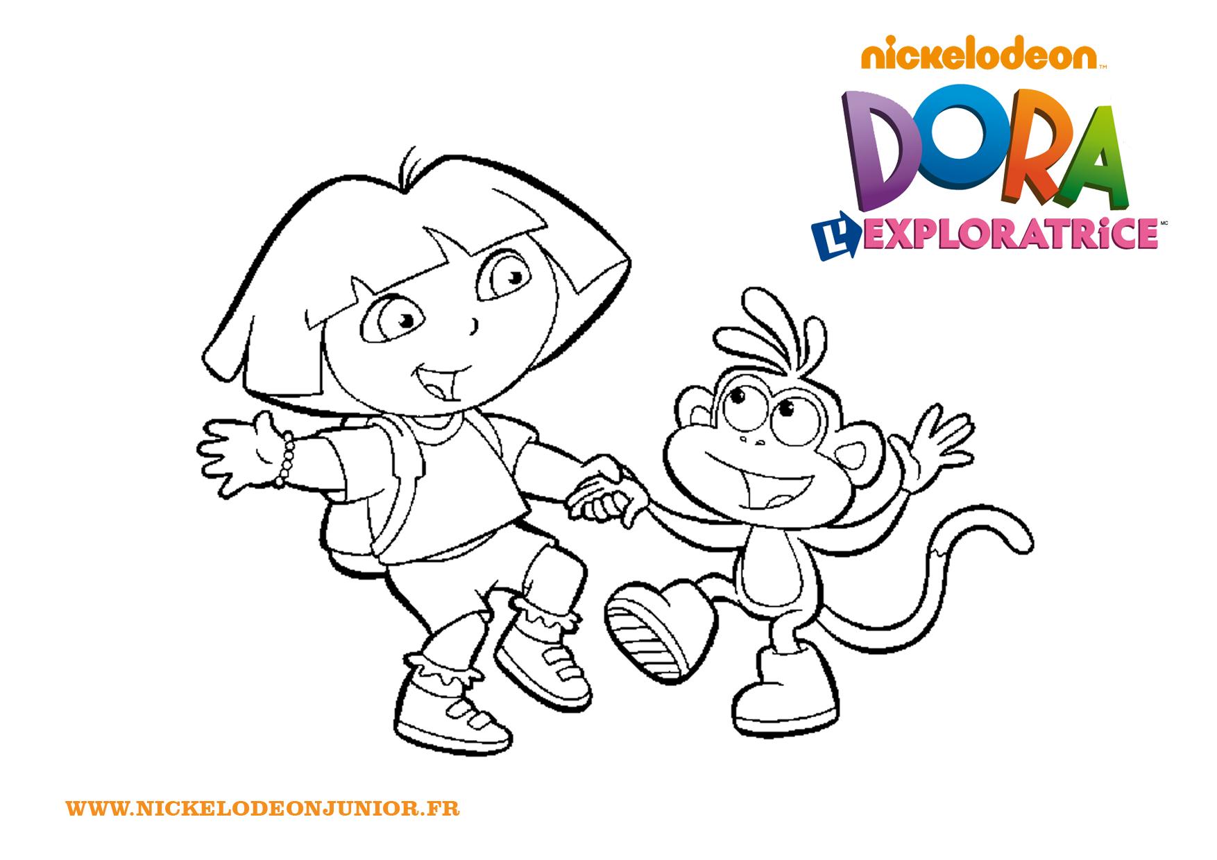 Dora danse avec babouche - Jeux de nick junior ...