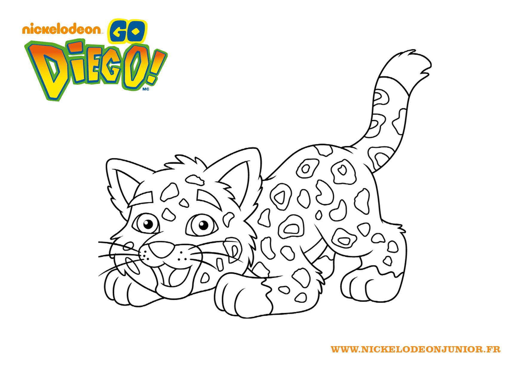 Le jaguar de diego - Jeux de nick junior ...